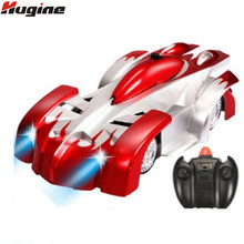 RC Crawler Stunt Car Climbing Suction Wall Rotation Drift Car Spider Man Climbing Children Toys Remote Control Electric Kids Toy(China)