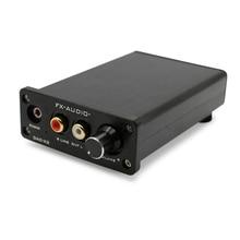 Mini Portable Headphone Amplifier FX Audio DAC-X3 CS4344 CS8416 AUX USB DAC Earphone Amplifier Amp Coaxial Optical Audio Decoder lcd1602 soft control display cs8416 dual wm8741 dac decoder