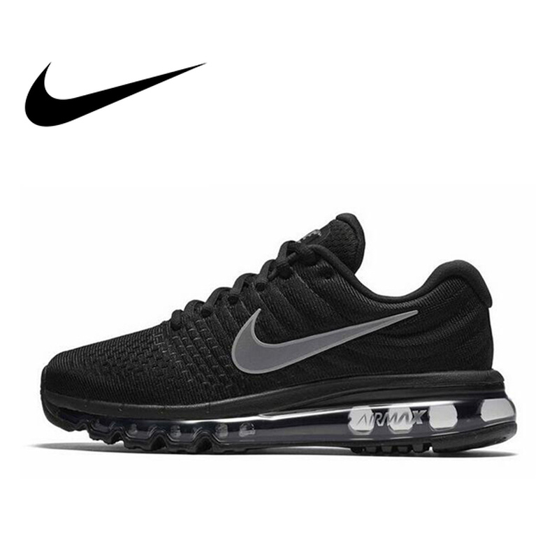 Original authentique Nike Air Max 17 respirant chaussures de course pour femmes sport baskets de plein Air confortable marche jogging 849560