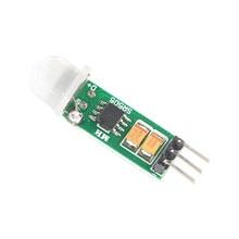HC-SR505 мини-модуль датчика тела Индукционная форма для человека БЫСТРЫЙ мини-индукционный переключатель для тела