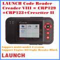 [Frete grátis] original launch creader viii code reader atualização online creader professional crp129 creader viii 40 softwares de carro