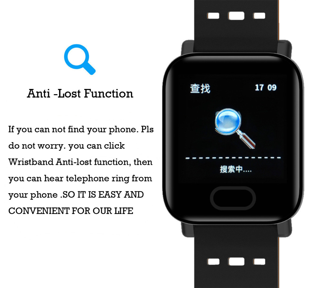 Image 2 - Bluetooth Smart Wristband Screen Blood Pressure Fitness Tracker Heart Rate Monito for Android iPhoneTouch Screen fitnessTracker-in Smart Wristbands from Consumer Electronics