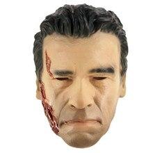 2018 Decoration Box Gift Realistic Arnold Schwarzenegger Adult Halloween Latex Robot Terminator Mask