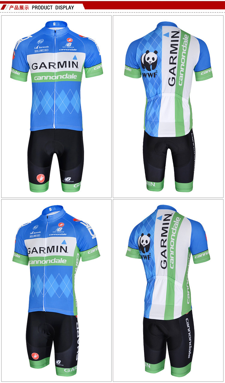 uudet tyylit outlet putiikki uusi aito 2015 Garmin Cycling Jersey 4Color Racing Bike Maillot Ropa ...