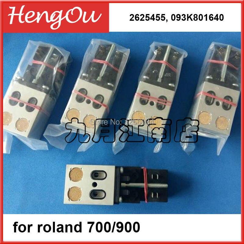 1 piece 2625455,093K801640,Roland valve,Roland 700 machine original part,8010205 9000 024 00