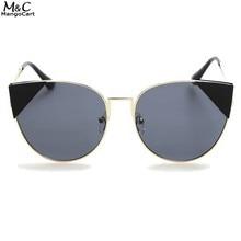 FANALA 2017 Mujeres gafas de Sol Gafas de Sol Gafas de sol de Metal Diseñador de Modas Damas de Cristal UV400 Oculos Gafas Accesorios