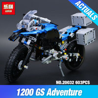 New 2017 Lepin 20032 Technic Series The BAMW Off Road Motorcycles R1200 GS Building Blocks Bricks