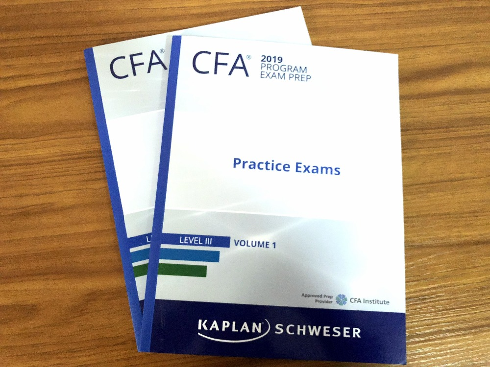 2019 CFA LEVEL III Schwes Practice Exam Volume 1 + Volume 2 simulation title2019 CFA LEVEL III Schwes Practice Exam Volume 1 + Volume 2 simulation title