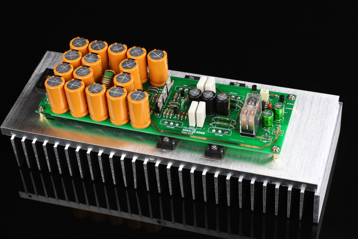 ZEROZONE Assembeld Ver 2.0 PASS A3 Class A Mono Amplifier Board 30W Amp DIY ( No Heatsink ) archetype transparent ver she