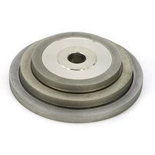 цена на 1 piece 1A1 flat shape diamond coated abrasive wheel grinding disc D100 hole 20mm grit 80~600# JGS018