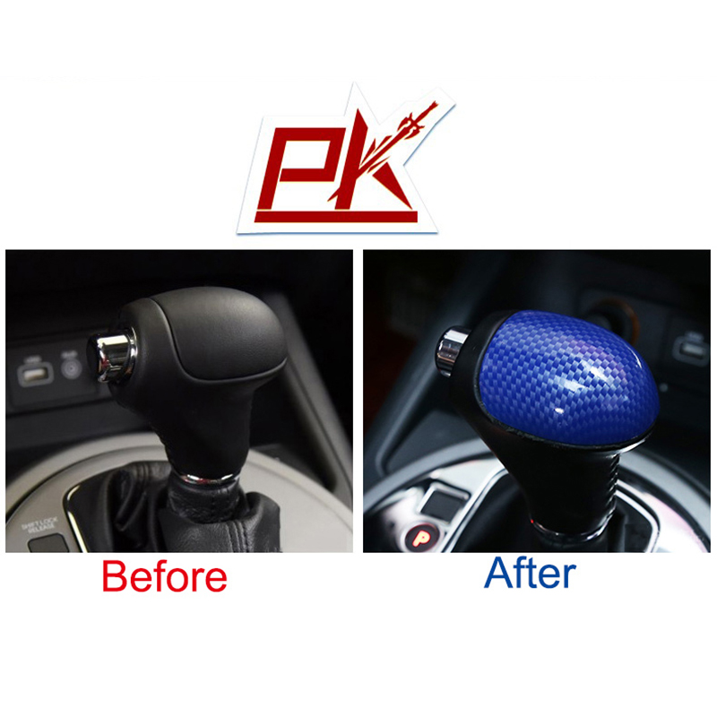 Image 4 - 4D Carbon fiber Car Gear Shift Knob Gear Head Cover Sticker for Kia Sportage R Cerato K3 K4 K5 Sorento 2011 2012 2013 2014 2015-in Car Stickers from Automobiles & Motorcycles