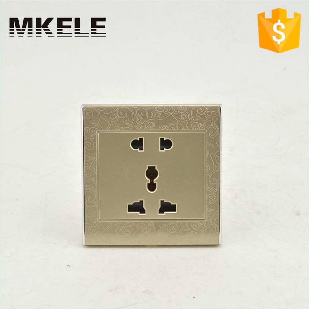 High Quality MK-WS05FH Cheap British Standard Wholesale Hotel Useful 2 Pin And 3 Wall Mount Switch And Socket OEM ODM  цены