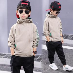 Image 4 - Boys clothes children spring solid jacket for teenage boys casual coat child tops 3 111 Y children active jacket baby clothing