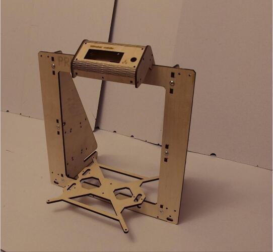 3D Imprimante Reprap Mendel Prusa i3 Cadre 6mm Contreplaqué + Vis + LCD titulaire