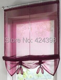 aliexpresscom acquista bella sheer tende per le finestre tende della cucina tende a pacchetto pu sollevare balcone tenda caff personalizza tulle da