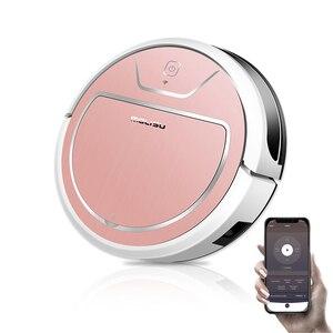 Image 2 - Robotlu süpürge wifi Akıllı navigasyon Emme süpürme ev kablosuz akıllı süpürge pet saç aspirateur odkurza