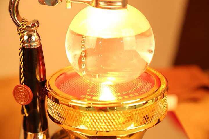 Syphon кофеварка нагреватель/Кофеварка syphon галогенный балочный нагреватель, кофе нагреваемая печь нагревательное устройство инфракрасная га... - 5