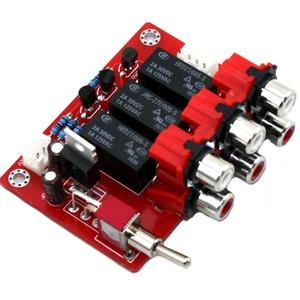 Image 5 - DC12V ثلاثي المدخلات إدخال الصوت التبديل مجلس YJ00309