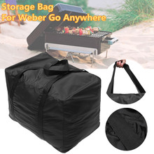 BBQ Premium Storage Carry Bag Waterproof For Weber Go Anywhere Portable Charcoal Grill Picnic Camping Barbecue Carry Bag