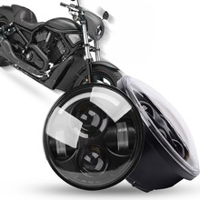 LED 40W Daymaker Headlight Headlamb 5.75″ 5-3/4″ Inch Projector For Harley Sportster Iron 883 Dyna Street Bob FXDB