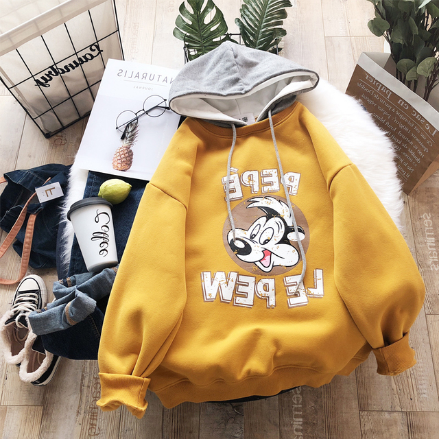 CUTE CARTOON HOODIE (3 VARIAN)