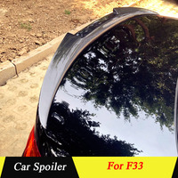 For BMW F33 M4 2012 2013 2014 2015 2016 2017 2018 Carbon Fiber Rear Trunk Spoiler Car Tail Wing Decoration For M4 Style