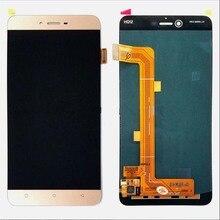 Beyaz/altın siyah LCD + TP için BLU Vivo 5 V0050UU LCD ekran + dokunmatik ekranlı sayısallaştırıcı grup Smartphone değiştirme