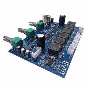 Image 5 - TPA3118 płyta wzmacniacza audio subwoofera 2X30W + 60W HIFI 2.1 kanałowy wzmacniacz cyfrowy Bluetooth 4.2 z U Disk Remote B6 001