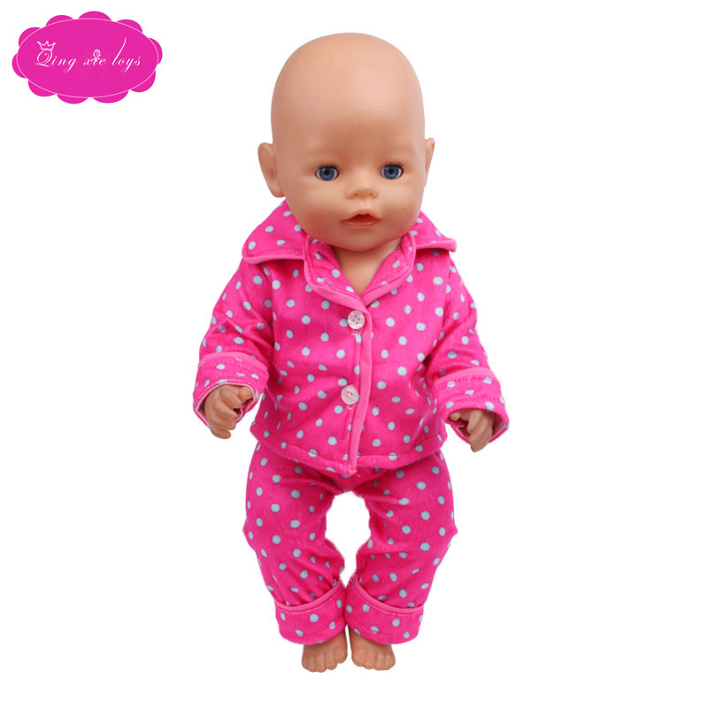 Handmade doll clothes for 43-cm Zapf dolls are the perfect birthday gift for kids f410