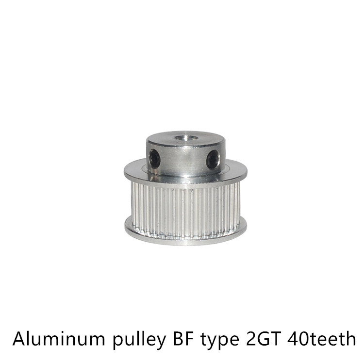40 teeth GT2 Timing Pulley Bore 5mm 6mm 6.35mm 8mm 10mm for   belt used in linear 2GT pulley 40Teeth 40T40 teeth GT2 Timing Pulley Bore 5mm 6mm 6.35mm 8mm 10mm for   belt used in linear 2GT pulley 40Teeth 40T