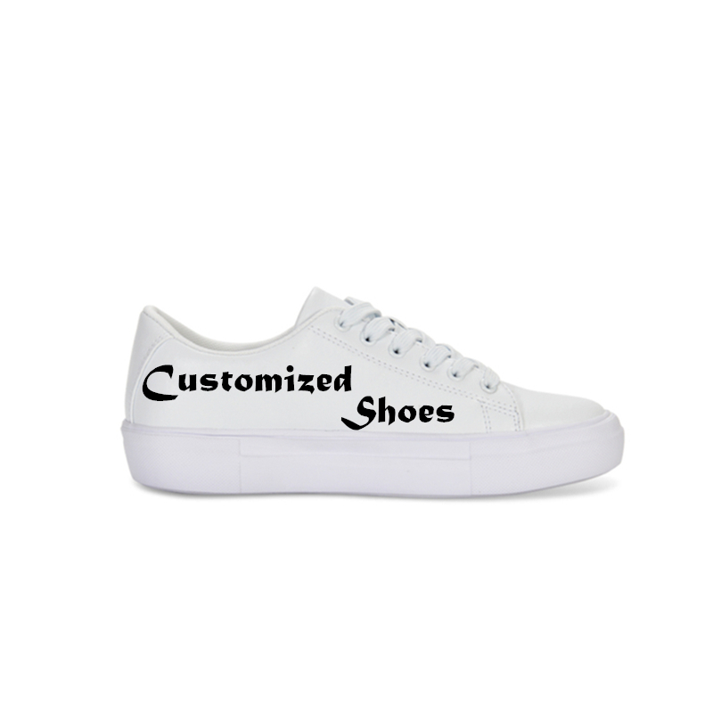 1 Pc Customized Womens Shoes Flat Footwear Fashion PU 3D Printed Shoes Casual Gilrs School Shoes Sneakers Ladies Spring Summer