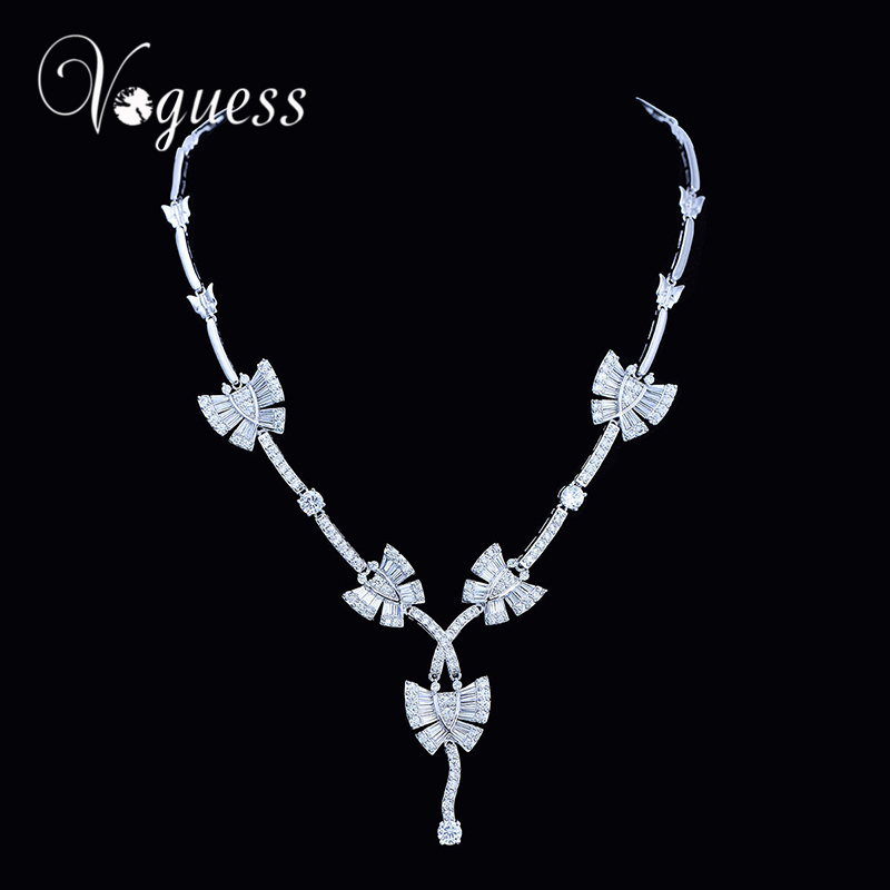 VOGUESS Maxi Statement Animal Jewelry Butterfly Necklace Choker Collar Pendant Fashion New Necklaces For Women