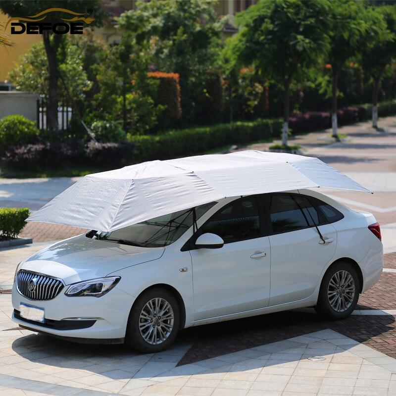 Haute qualité voiture pare-soleil fenêtre feuilles pare-brise couverture de soleil toutes les fenêtres de voiture pare-soleil 400 cm * 210 cm * 25 cm taille livraison gratuite