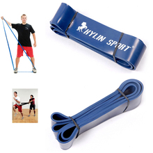 Fitness Equipment Loop Pull Up Physio Resistance Bands Rubber Expander Length 208cm Width 6.4cm 120 to 175 Pounds