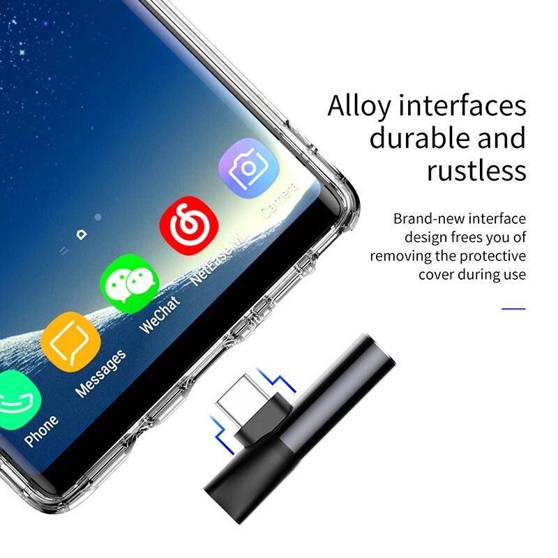 Beseus Usb-C TIPO C A 3.5mm Adaptador de Audio Jack de Auriculares para Huawei P20 Pro