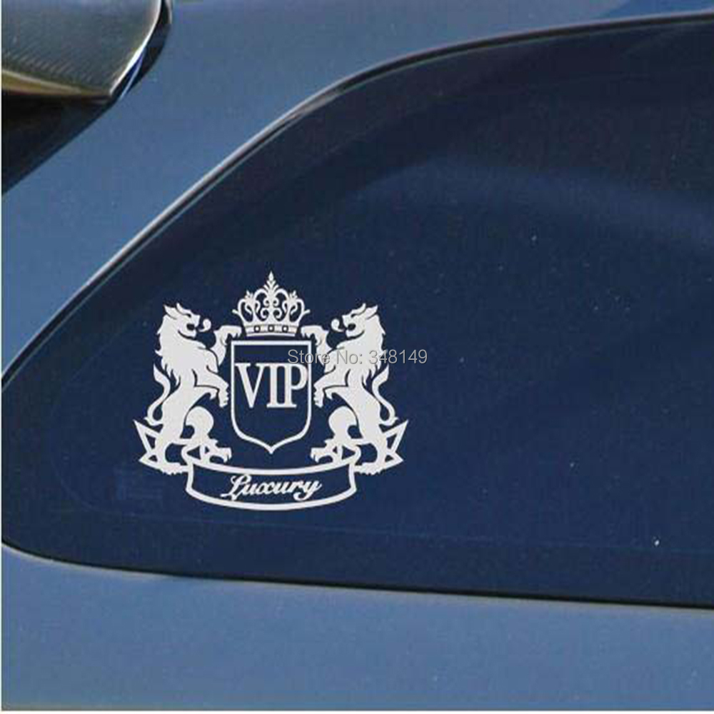 Aliauto Avtomobil Aksesuarları Motosiklet Cruze Ford Focus VW Skoda Octavia kia üçün Lüks VIP Aslan Yansıtıcı Avtomobil Stikeri və Decal