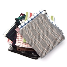 Men Cravat Tie Cotton Handkerchief Bow Ties Striped Pocket Square Hanky Wedding Party NeckTie Man Striped Shirt Gift Accessorie striped cami handkerchief t shirt