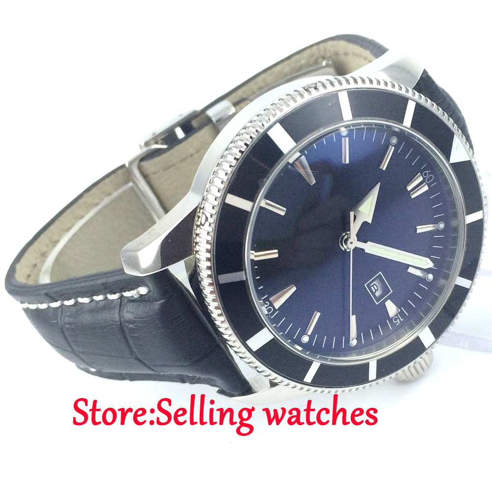 superocean blue heritage watch automatic breitling watches chronograph img products