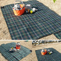 Large Camping Mat 200x150cm and 150x180cm Cashmere Waterproof Outdoor Picnic Mattress cushion beach sand free mat 3 colors