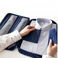 Multifunções Nylon Viagem de Negócios Camisa Sorage Bag Tie Organizador Bolsa Homens Saco de Viagem de Bolso