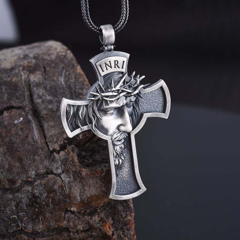 Christ Crucifix Pendant Necklace