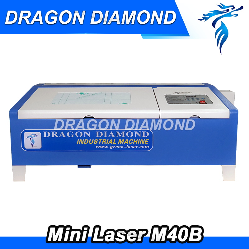 High Quality 200mm 300mm Desktop Mini Laser Engraving Machine LZ M40