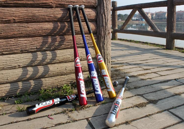 Hard Alloy baseball bat 25-30 inches 63-75cm Anti slip Playing beisebol bats bar hardball for adult outdoor sports Car bate