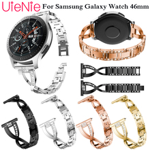 Luxury Watch band For Samsung Galaxy Gear S3/Galaxy Watch 46mm Frontier Classic Smart Watch Replacement Strap bands Watchband replacement bands for samsung galaxy gear s sm r750 smart watch soft tpu classic watch band style with metal buckle