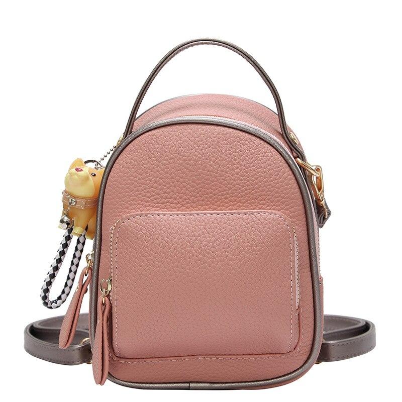 2018 Women Leather Backpack children backpack mini backpack women cute back pack backpacks for teenage girls small bag
