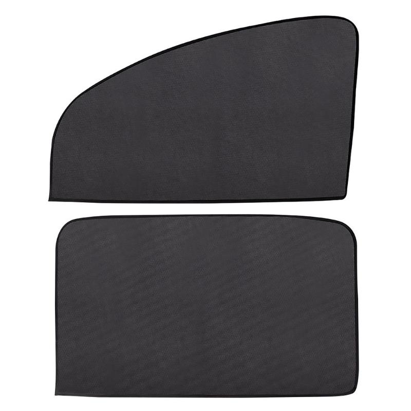 VODOOL Magnetic Car Window Sunshade Cover Curtain UV Protection Auto Side Windows Sun Visor Shield Mesh Sun Shade Protector Film(China)