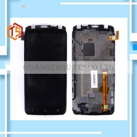 Guarantee 100 1pc HH S720E Black Touch Screen Digitizer Sensor Glass Lens LCD Display Assembly With