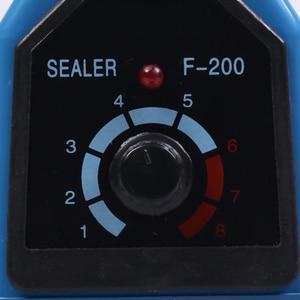 Image 5 - Hoge kwaliteit AC 110 V/220 V, 50Hz Impuls Sealer Handleiding Warmte Sluitmachine Voor Aluminium/Plastic Open Top Zak Voedsel Opbergtas