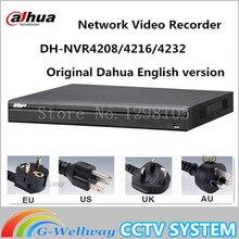 Original Egnlish version dahua NVR 8/16/32CH 4K H265 H264 1U Network Video Recorder NVR4208-4KS2 NVR4216-4KS2 NVR4232-4KS2