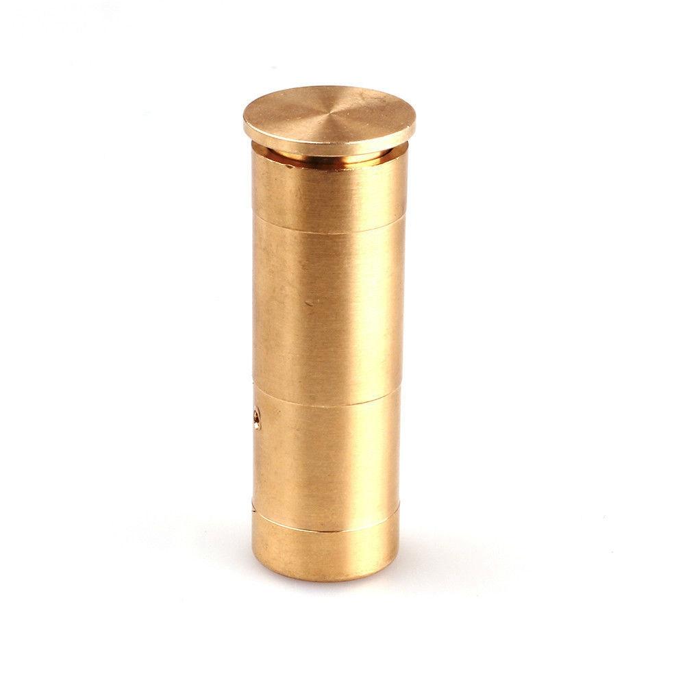 GUGULUZA Hunting Red Laser Copper Boresight Gun Sighting Dot 12GA Bore 12 Gauge Cartridge Sight Laser